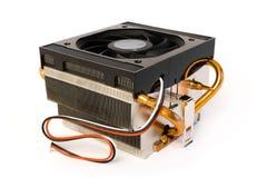 Disipador de calor del procesador Imágenes de archivo libres de regalías