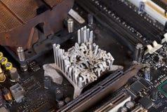 Disipador de calor fundido Fotos de archivo libres de regalías