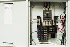 Disjoncteurs de l'électricité Image stock