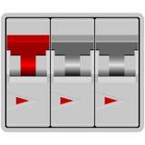 Disjuntor ilustração stock