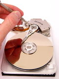 Disk. Disc service- parts Royalty Free Stock Photo