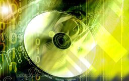 Disk. Digital illustration of Royalty Free Stock Image