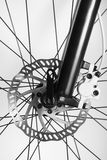 Disk brake of the bicycle Stock Photography