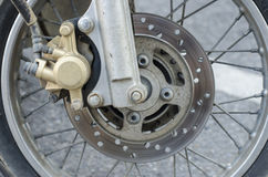 Disk Brake Motorcycle Royalty Free Stock Image
