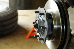 Disk brake Royalty Free Stock Images