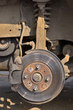 Disk brake system. Stock Images