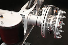 Disk brake Stock Image