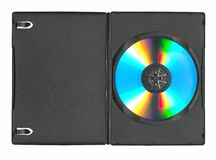 Disk in the case Royalty Free Stock Photo