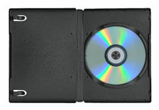 Disk in the case Royalty Free Stock Images