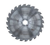Disk for circylar saw. NDisk for circylar saw isolated Royalty Free Stock Photography