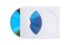 Disk and Envelope Stock Photo