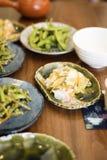 Disk för japansk sida Arkivfoton