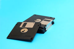 Disk floppy magnetic computer data storage support Royalty Free Stock Photo