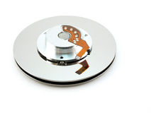 Disk of hard drive Royalty Free Stock Images