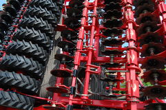Disk harrow Royalty Free Stock Photos