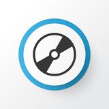 Disk Icon Symbol. Premium Quality Isolated Cd-Rom Element In Trendy Style. Premium Quality Isolated Cd-Rom Element In Trendy Style.  Disk Icon Symbol Stock Photos