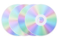 Disk isolated Stock Image