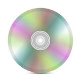 Disk on isolated Royalty Free Stock Photography