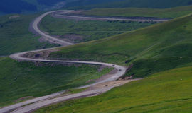 Disk mountain road Royalty Free Stock Images