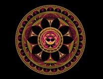 Disk pattern Royalty Free Stock Image