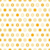 Disk yellow star  seamless pattern. Stock Photo