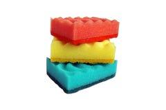 disken sponge tvätt Royaltyfri Bild