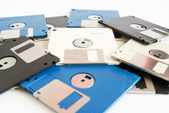 Diskett disck Arkivfoton