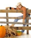 diskett strömförande scarecrow Royaltyfria Foton