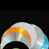 diskettdvd Arkivbild