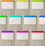Diskette background royalty free stock photos