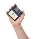 Diskette, Datenspeicherungsunterstützung Stockbild