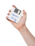 Diskette, Datenspeicherungsunterstützung Lizenzfreies Stockfoto