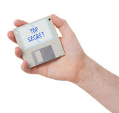 Diskette, Datenspeicherungsunterstützung Lizenzfreie Stockbilder