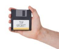 Diskette, Datenspeicherungsunterstützung Lizenzfreie Stockfotografie