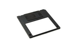 Diskette with empty space for text. Royalty Free Stock Images