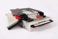 Diskette en aandrijving Royalty-vrije Stock Afbeelding