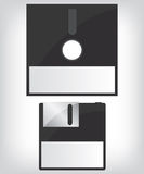 Diskette illustration Royalty Free Stock Image