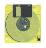 Diskette isolated Stock Photos