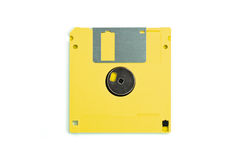 Diskette isolated Stock Image