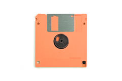 Diskette isolated Stock Photo
