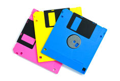Diskette isolated royalty free stock photos