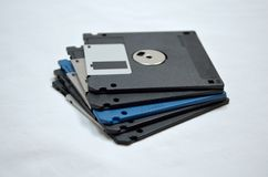 Diskette stack Stock Image