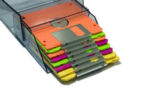 The diskette Stock Photo