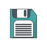 diskette technology design Royalty Free Stock Photos