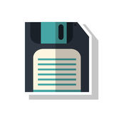diskette technology design royalty free illustration