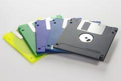 Disketten 3 Eine Vektorillustration stockbild