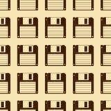 Diskettenmuster Lizenzfreie Stockfotografie