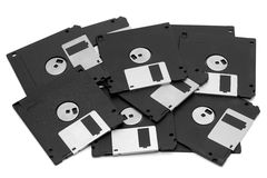 Diskettes Royalty-vrije Stock Afbeelding