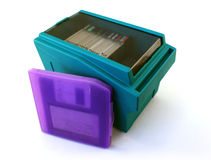 Diskettes Stock Foto