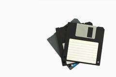 Diskettes viejas i imagen de archivo libre de regalías
